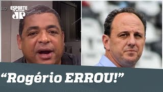 """""""Você ERROU!"""" OLHA o que Vampeta falou a Rogério Ceni!"""