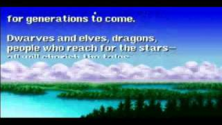 Final Fantasy 1 REMAKE (1987/2003) [PSX] Ending
