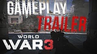 WORLD WAR 3 Gameplay Trailer!  Tak wygląda gra!