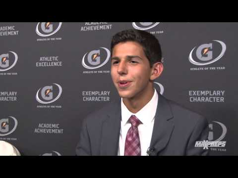 Grant Fisher Interview - Gatorade Player of the Year Awards