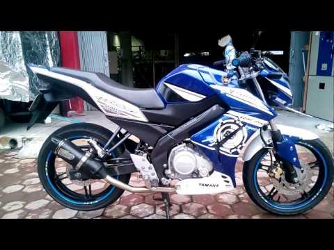 Knalpot Racing NOB1 NEO SS with db killer di instal di Yamaha New Vixion Lightning NVL
