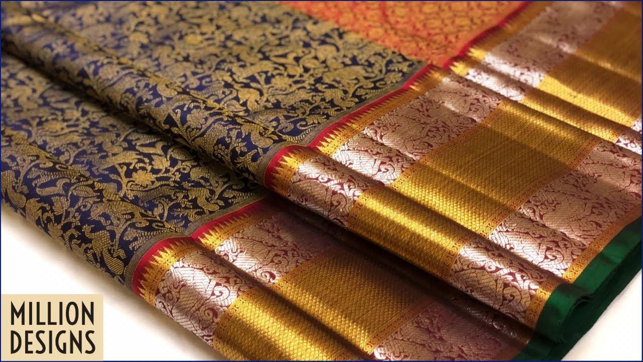 Exclusive Gorgeous Kanjivaram Saris with cost of each saree