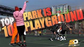 nba 2k18 park is now playground   nba 2k17 top 10 best blocked dunks