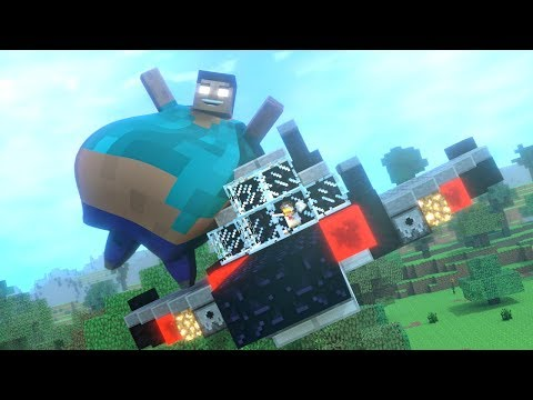 Top 5 Funny Minecraft Animations (By MrFudgeMonkeyz)