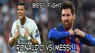 Momen Best Fight Messi vs Ronaldo l Football Best Fight