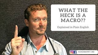 What the Heck is a Macro? (In Plain English) Video