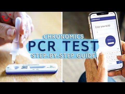 Chronomics PCR test step-by-step guide   TUI help & FAQs
