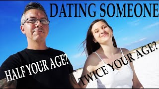 Dating Someone Twice Your Age / Half Your Age. We talk about our 20 year age gap!