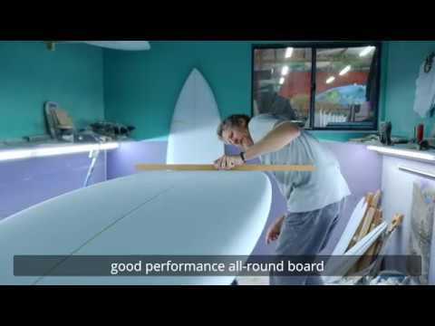The Best All Round Performance Fish Surfboard: The Blackbeard
