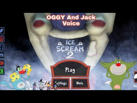 Download Ice Cream 2 New Update (Hindi Funny) OGGY And Jack Voice Full Gameplay