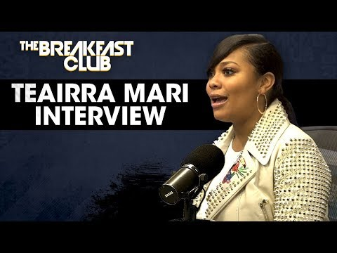 DJ MK - TEAIRRA MARI INTERVIEW ON THE BREAKFAST CLUB.