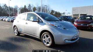 2011 Nissan Leaf SL Power Up, Engine, Test Drive, and In Depth Tour