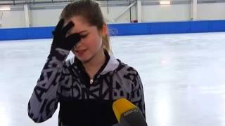 Юлия Липницкая тренируется в Сочи. Новости Сочи Эфкате