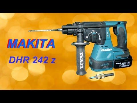 Перфоратор Makita DHR 242 Z /Обзор и тест