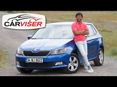 Skoda Fabia 1.2 TSI DSG Test Sr Review English subtitled
