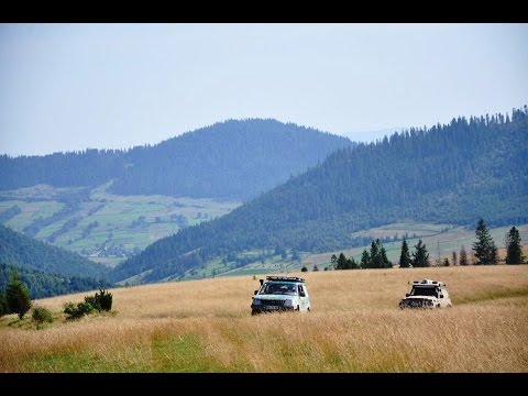 Karpat Off Road Tour 2014  Ukraine - Slovenia
