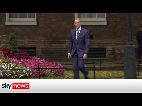 Dominic Raab out as Foreign Secretary