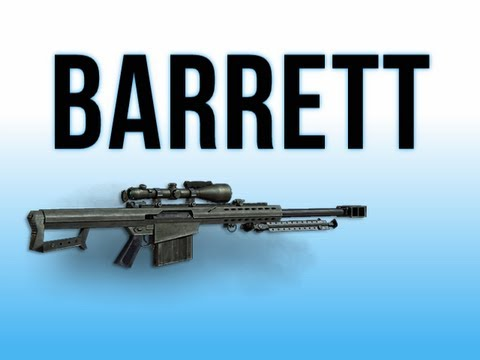 MW3 In Depth - Barrett 50cal Sniper Rifle