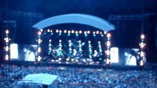 Quality camera recording CIGARETTES AND ALCOHOL OASIS Live at Millennium Stadium Cardiff 12.6.09