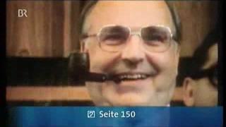 Franz Josef Strauß über Helmut Kohl als Kanzlerkandidat