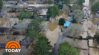 Waterlogged South Faces More Rain And New Flooding Fears | TODAY
