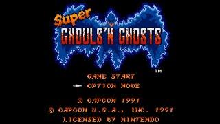 [Casual Longplay - 006] Super Ghouls 'n Ghosts (SNES)