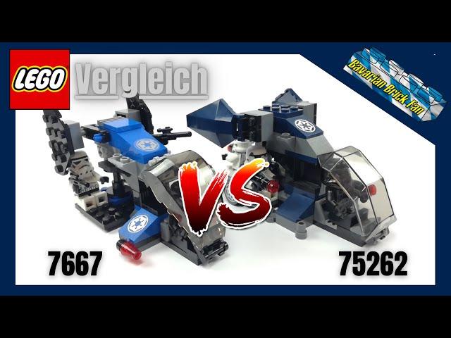 LEGO Star Wars Imperial Dropship Vergleich | Lego 7667 gegen 75262