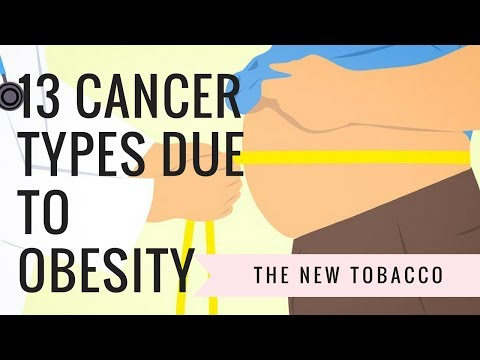 13 Cancer Types due to Obesity