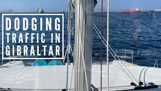MONKEY BUSINESS - Sail to GIBRALTAR /EXPLORING AND PROVISIONING ! Ep. 7 Sailing JOY