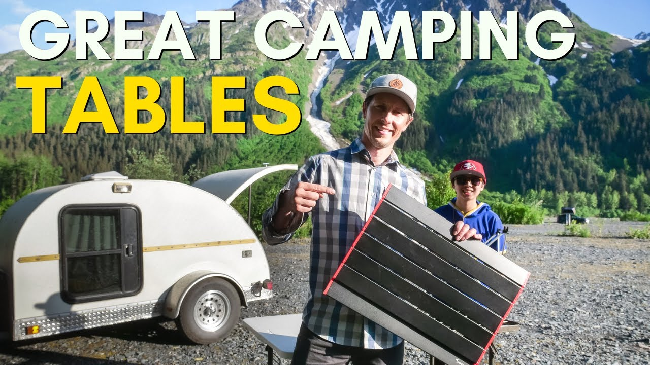 Four Camping Tables YOU NEED To Know About!