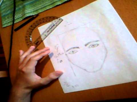 Drawing a portrait by using the golden ratio youtube drawing a portrait by using the golden ratio ccuart Image collections
