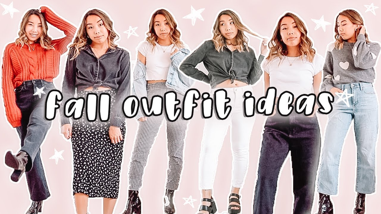 [VIDEO] - fall outfit ideas! styling thrifted +classic fall pieces 7