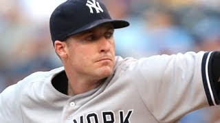 New York Yankees starter Chase Whitley talks about his mechanical adjustments