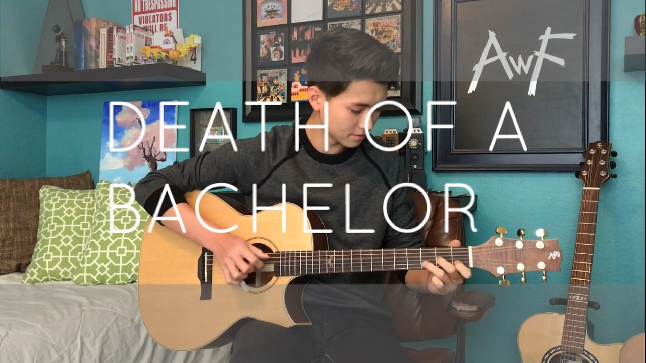 panic at the disco death of a bachelor cover doabcover chords chordify. Black Bedroom Furniture Sets. Home Design Ideas