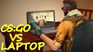 CS:GO vs Laptop Gamingowy! - Lenovo Legion Y520 | Mervo
