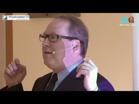 Populismus, Bargeld, Geopolitik, Meinungsmanipulation  Max Otte vor Abgeordneten des Bundestags