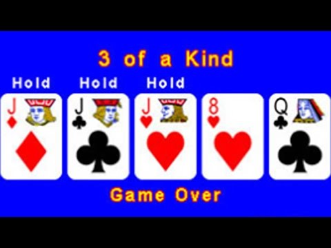 CGR Undertow - PLAIN VIDEO POKER review for Nintendo 3DS