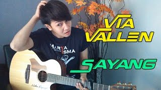 "Gambar cover (Om Waves / NDX) Via Vallen ""Sayang"" - Nathan Fingerstyle Cover"