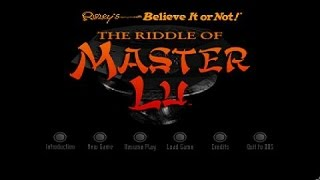 Riddle of Master Lu gameplay (PC Game, 1995)