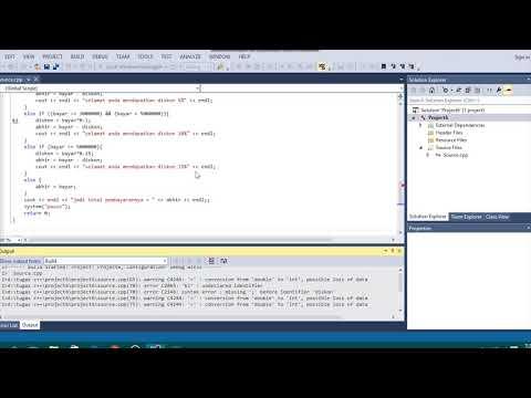 Cara Menggunakan C++ Di Visual Studio