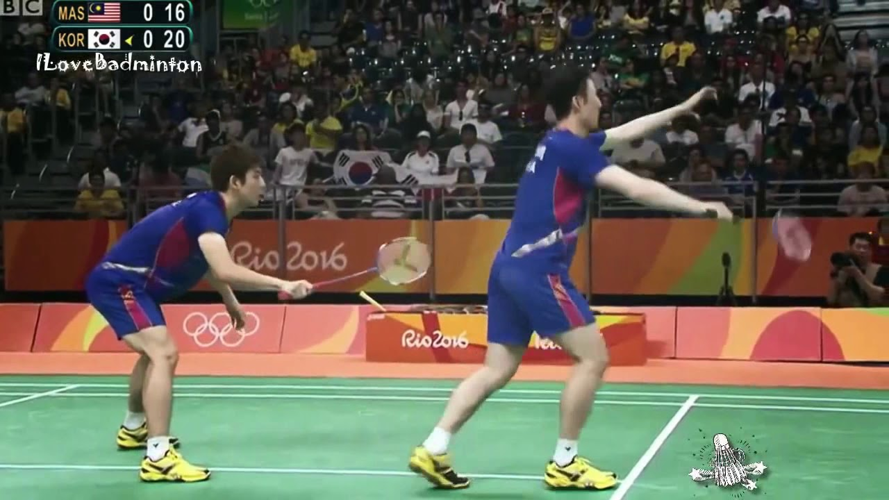 Badminton Rallies of 2016 LEE Yong Dae YOO Yeon Seong vs GOH V