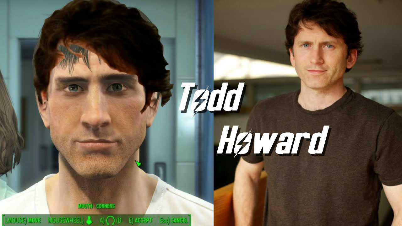 Fallout 4 l Character creation challenge l Todd Howard! Week #2