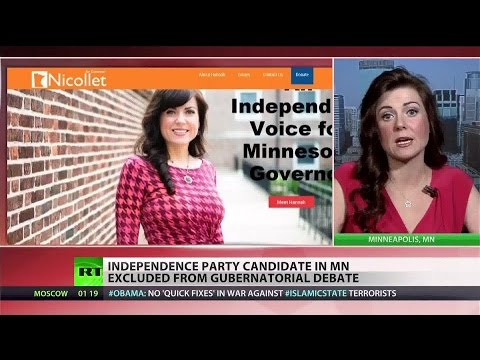 Independence Party candidate blocked from Minnesota debates