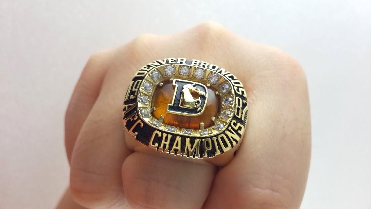 Afc Championship Ring 2015