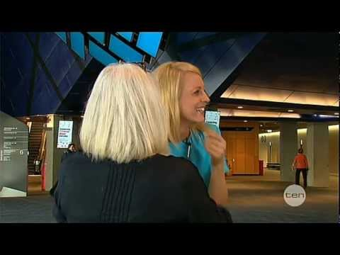 The Project 2013 - Carrie Bickmore Falls Over