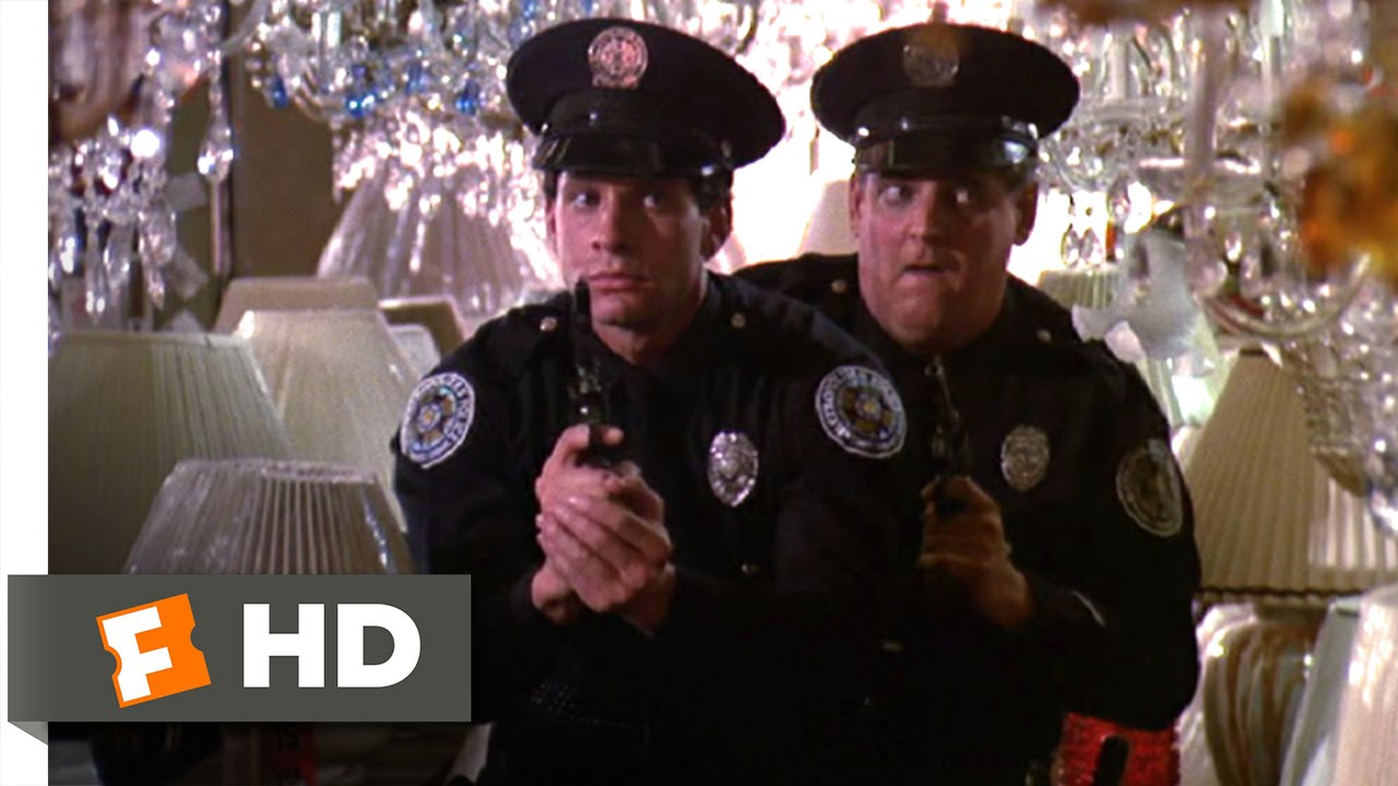 Police Academy 2 (1985) - Lighting Up the Light Store Scene (3/9) |  Movieclips