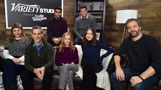 Judd Apatow and Holly Hunter on 'The Big Sick' at Sundance
