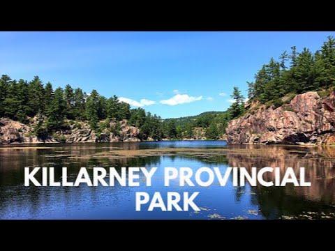 Backwoods Camping in Killarney Provincial Park