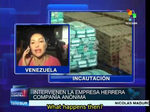 Venezuelan distribution company charged with stockpiling