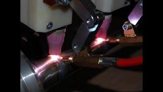 Автоматическая сварка, обработка и производство металлических изделий. Удивительные технологии.